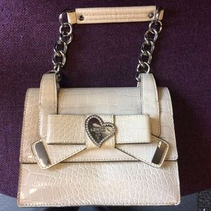 Guess Chain Top Handle Bag